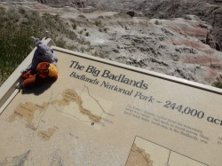 Badlands is older than us