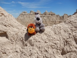 Burt & Muggins in the Majestic Badlands